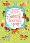 1000 adesivi di cavalli e pony. Ediz. illustrata