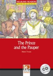 HEL READERS RED 1 TWAIN PRINCE AND PAUPER+CD
