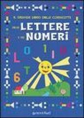 Grande libro delle cornicette delle lettere e dei numeri