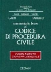 Commentario breve al codice di procedura civile. Complemento giurisprudenziale