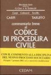 Commentario breve al Codice di procedura civile. Appendice di aggiornamento 2004