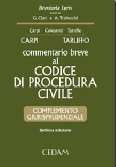 Commentario breve al codice di procedura civile. Complemento giurisprudenziale. Con CD-ROM