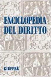 Enciclopedia del diritto. 31.