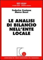 Le analisi di bilancio nell'ente locale