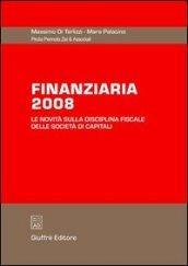 Finanziaria 2008. Le novità sulla disciplina fiscale delle società di capitali