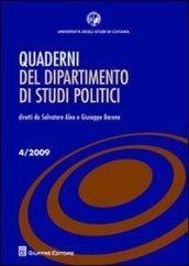 Quaderni del dipartimento di studi politici (2009). 4.
