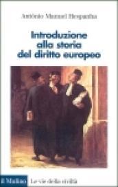 Introduzione alla storia del diritto europeo