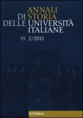 Annali di storia delle università italiane (2015). 2.