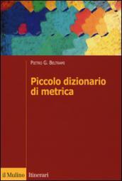 Piccolo dizionario di metrica