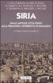 Siria. Dalle antiche città-stato alla primavera interrotta di Damasco