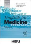 English for medicine. Con CD Audio. 2.