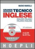 Grande dizionario tecnico inglese. Inglese-italiano, italiano-inglese. Ediz. bilingue. Con CD-ROM
