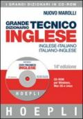 Grande dizionario tecnico inglese. Inglese-italiano, italiano-inglese. CD-ROM