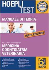 Hoepli test. Manuale di teoria per i test di ammissione all'università vol.6