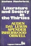 Literature and Society in the Thirties
