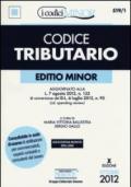 Codice tributario. Ediz. minore. Con aggiornamento online