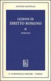 Lezioni di diritto romano: 2