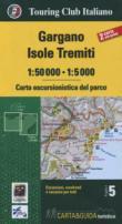 GARGANO ISOLE TREMITI - CARTA E GUIDA