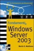 Fondamenti di Windows Server 2003