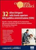 32 allievi dirigenti nella scuola superiore della pubblica amministrazione (SSPA)