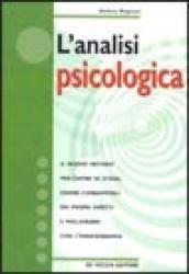 L'analisi psicologica
