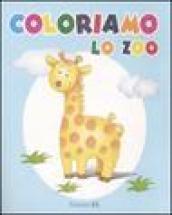 Coloriamo lo zoo. Giraffa