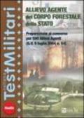 Allievo agente del Corpo forestale dello Stato. Preparazione al concorso per 500 allievi agenti