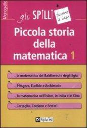 Piccola storia della matematica. 1.