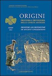 Origini. Preistoria e protostoria delle civiltà antiche-Prehistory and protohistory of ancient civilization. Ediz. bilingue. 34.