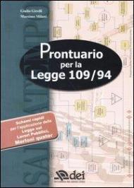 Prontuario per la Legge 109/94