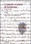 Il catasto onciario di Seminara (1742-1746). 1.