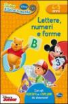 Lettere, numeri e forme. Con adesivi