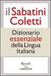 Il Sabatini Coletti dizionario essenziale della lingua italiana