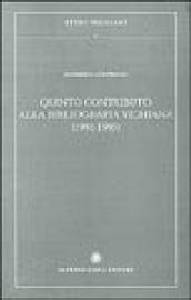 Quinto contributo alla bibliografia vichiana (1991-1995)