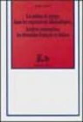 La notion du temps dans les expressions idiomatiques. Analyse contrastive: les domaines français et italien