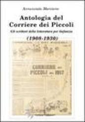 Antologia del Corriere dei Piccoli. Gli scrittori della lettura per l'infanzia (1908-1930)