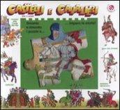 Castelli e cavalieri. Libro puzzle