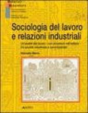 Sociologia del lavoro e relazioni industriali. Un'analisi del lavoro con incursioni nell'edilizia tra società industriale e neoindustriale
