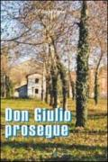 Don Giulio prosegue