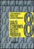 Quaderni della colata a pressione delle leghe di alluminio. 8.Qualità e conformità dei getti pressofusi