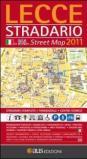 Lecce stradario. Pianta della città