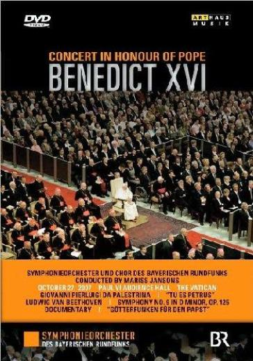 Concert In Honour Of Pope Benedict XVI