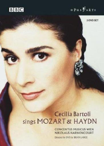 Cecilia Bartoli Sings Mozart And Haydn (2 Dvd)