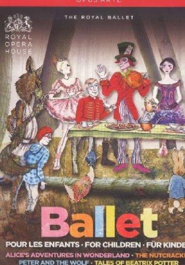 Ballet For Children (4 Dvd)