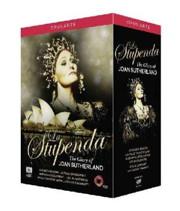 Stupenda (La) - The Glory Of Joan Sutherland (5 Dvd)