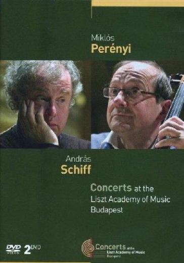 Schiff / Perenyi - Concerts At The Liszt Academy Of Music Budapest (2 Dvd)