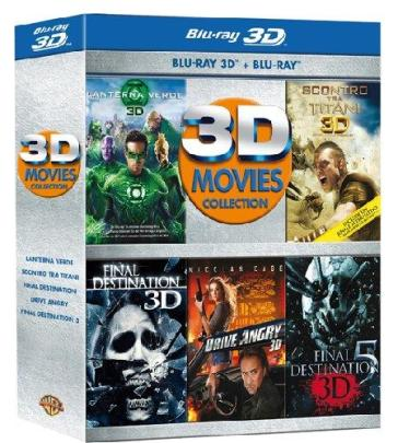 3D Movies Collection (5 Blu-Ray+Blu-Ray 3D)