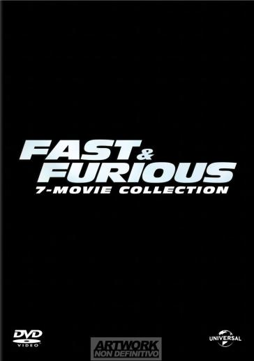 Fast And Furious - 7 Film Collection (7 Dvd)
