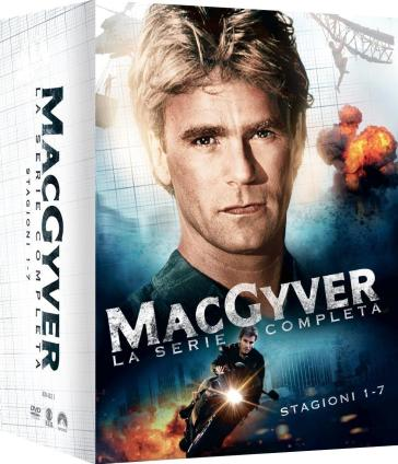 MacGyver - Stagione 01-08 (38 Dvd)