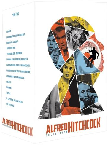 Alfred Hitchcock Complete Collection (15 Dvd)